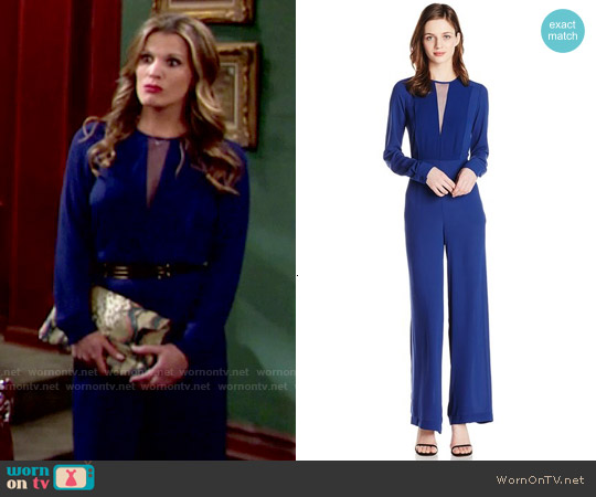 Bcbgmaxazria Marcee Jumpsuit worn by Melissa Claire Egan on The Young & the Restless