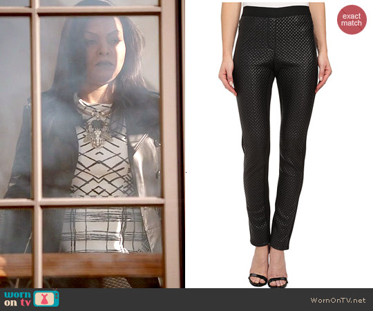 Bcbgmaxazria Nicolas Quilted Pleather Pant worn by Taraji P. Henson on Empire