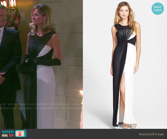 Bcbgmaxazria Ninah Dress worn by Kassie DePaiva on Days of our Lives