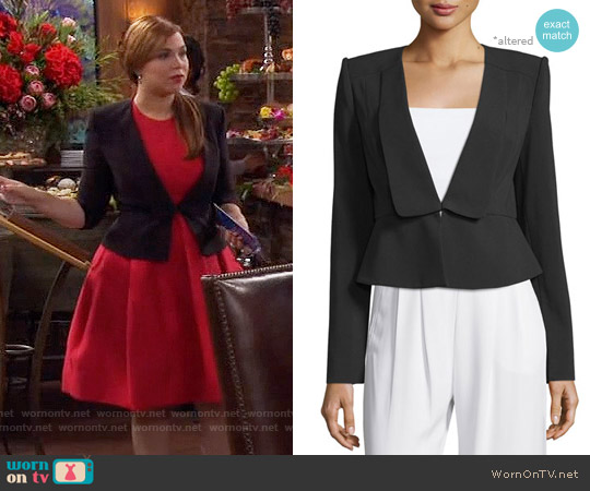 Bcbgmaxazria Penn Jacket worn by Kristin Baxter on Last Man Standing