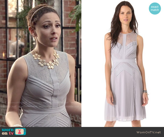 Bcbgmaxazria Raya Dress worn by Italia Ricci on Chasing Life