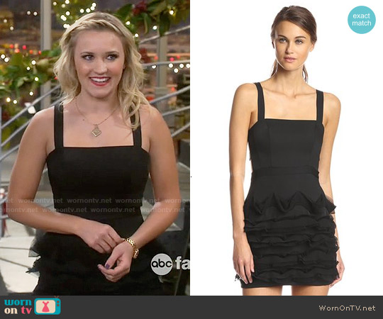Bcbgmaxazria Rebecka Dress worn by Emily Osment on Young & Hungry