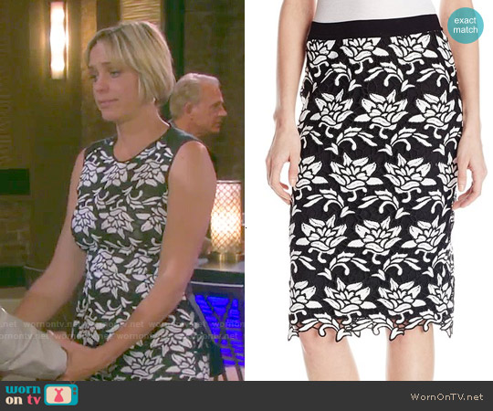 Bcbgmaxazria Sascha Skirt worn by Nicole Walker on Days of our Lives