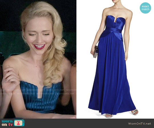 Bcbgmaxazria Tasha Gown worn by Johanna Braddy on UnReal