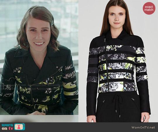 Bcbgmaxazria Tess Jacket worn by Zosia Mamet on Girls