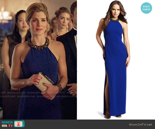 Bcbgmaxazria 'Viviane' Gown worn by Emily Bett Rickards on Arrow
