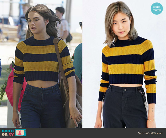 BDG Casey Sweater worn by Maia Mitchell on The Fosters