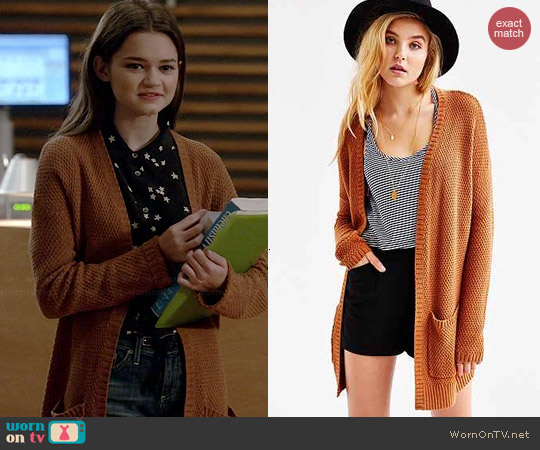 BDG London Cardigan worn by Ciara Bravo on Red Band Society