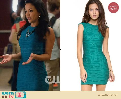 Bec & Bridge Wisteria Dress worn by Stephanie Jacobson on Star-Crossed