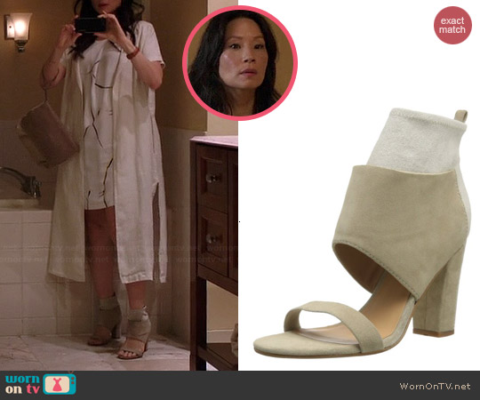 Belle by Sigerson Morrison Belden Sandals worn by Lucy Liu on Elementary