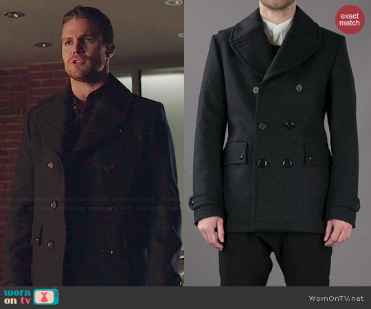 Belstaff Brentwood Coat worn by Stephen Amell on Arrow