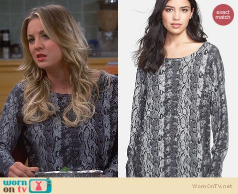 Big Bang Theory Fashion: Joie Cienna Sweater worn by Kaley Cuoco