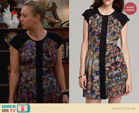 The Big Bang Theory Fashion: Parker Veronica Dress worn by Kaley Cuoco