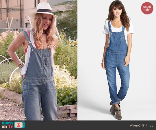 Big Star Heather Overalls worn by Beau Garrett on GG2D
