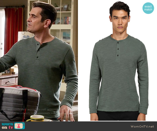 Billy Reid Hunter Henley worn by Ty Burrell on Modern Family