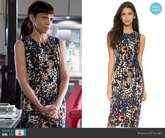 Black Halo Palmdale Dress worn by Tamara Taylor on Bones
