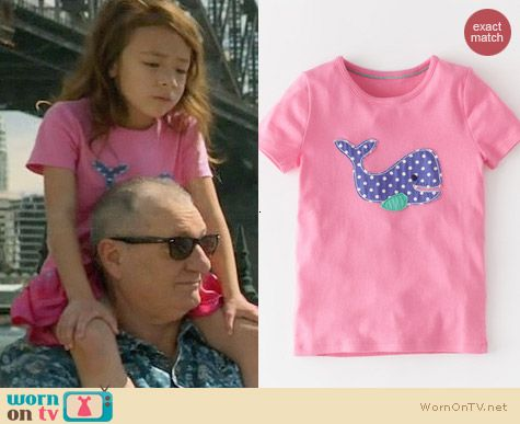 Boden Dotty Applique Tshirt worn by Aubrey Anderson-Emmons on Modern Family