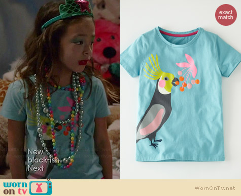 Boden Summer Holiday Tshirt worn by Aubrey Anderson-Emmons on Modern Family