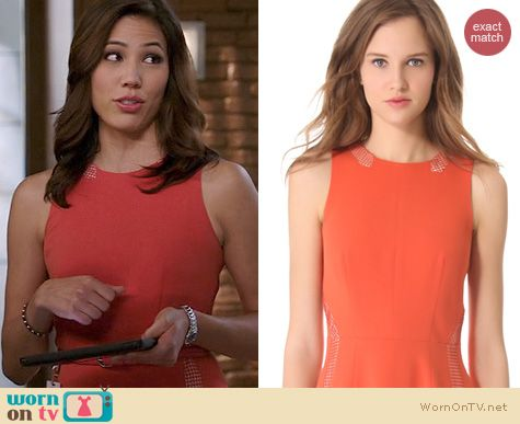 Bones Fashion: Rag & Bone Renard Dress worn by Michaela Conlin