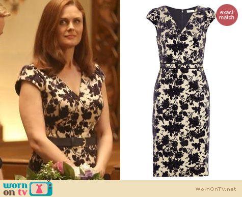 Bones Fashion: Tory Burch Dayton Dress worn by Emily Deschanel