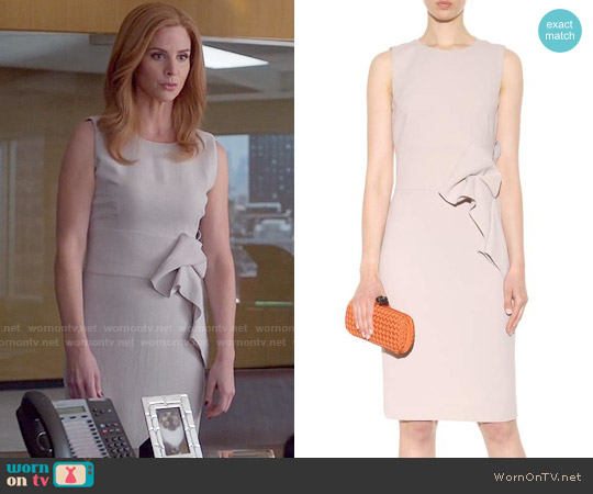 Bottega Veneta Crepe Dress worn by Sarah Rafferty on Suits