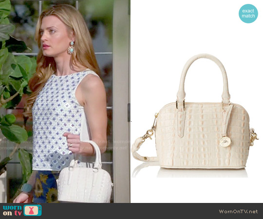 Brahmin Dottie Crossbody Bag worn by Brooke D'Orsay on Royal Pains