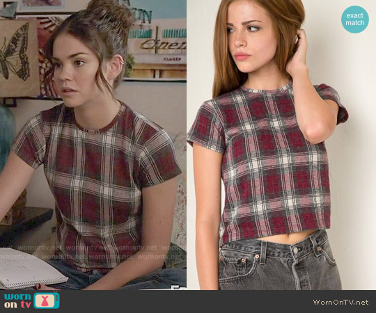 Brandy Melville Sammy Top worn by Maia Mitchell on The Fosters
