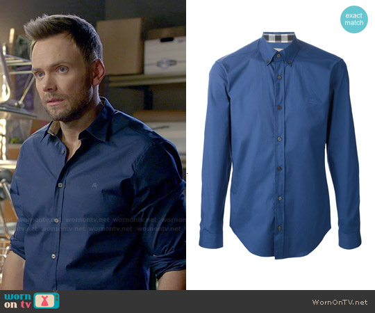 Burberry Brit Button-down Collar Shirt worn by Joel McHale on Community