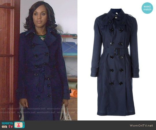 Burberry Classic Trench Coat worn by Kerry Washington on Scandal