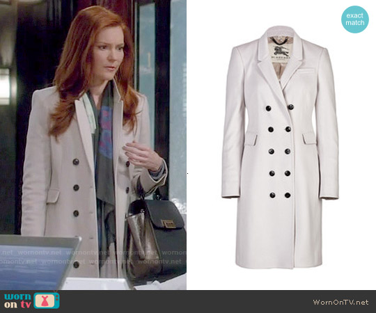 Burberry London Cashmere Northcombe Coat worn by Darby Stanchfield on Scandal