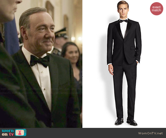 Burberry Melville Basic Tuxedo worn by Kevin Spacey on House of Cards