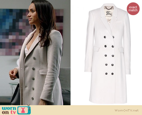 Burberry Northcombe Coat worn by Meghan Markle on Suits