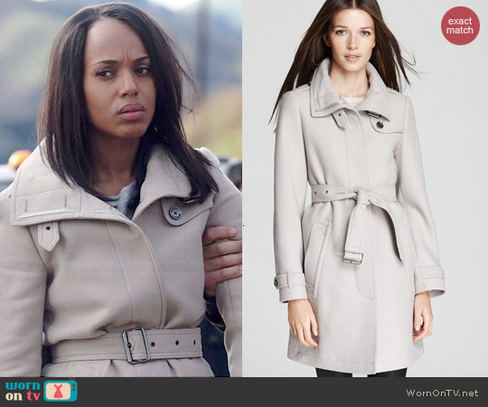 Burberry Rushworth Coat worn by Olivia Pope on Scandal