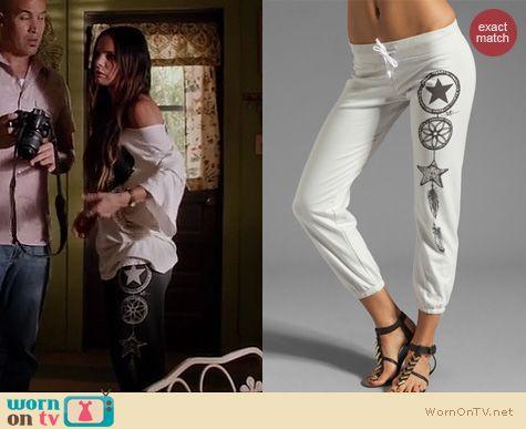 Burn Notice Fashion: 291 Sea Catcher Sweatpants worn by Gabrielle Anwar