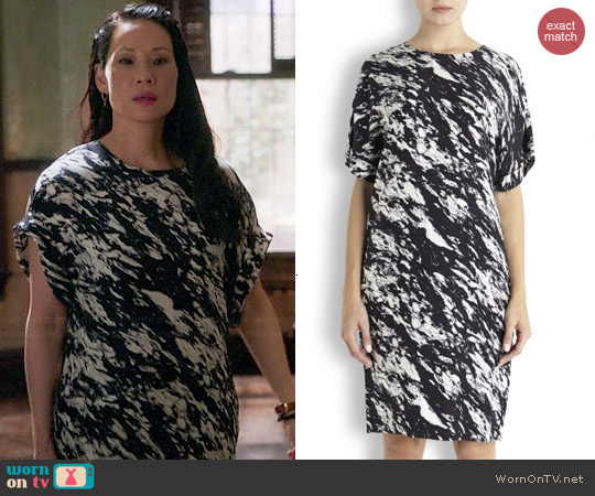By Malene Birger Aselloi Dress worn by Lucy Liu on Elementary
