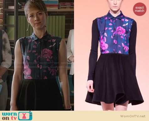 Calla Fall 2013 Collection Dress worn by Karine Vanasse on Revenge