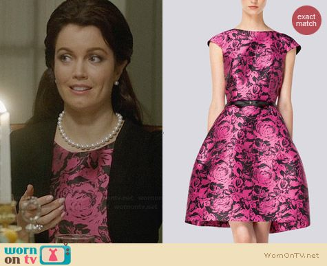 Carolina Herrera Spring/Summer 2014 Dress worn by Bellamy Young on Scandal