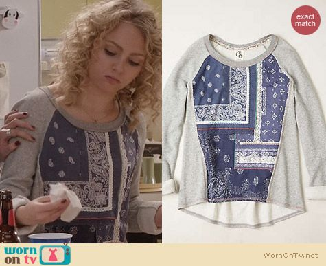 The Carrie Diaries Fashion: Anthropologie Bobbie Pullover worn by AnnaSophia Robb