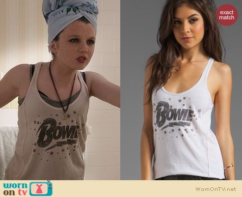 The Carrie Diaries Fashion: Chaser Bowie Stars Tank worn by Stefania Owen