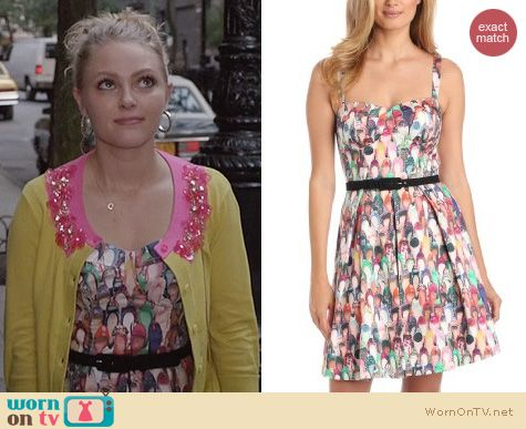 Carrie Diaries Fashion: Eva Franco Austin Dress in Imelda's Closet worn by AnnaSophia Robb