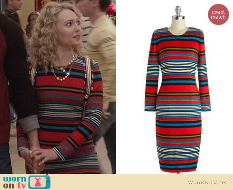 The Carrie Diaries Fashion: ModCloth Interview Ace Dress by Bettie Page worn by Carrie Bradshaw