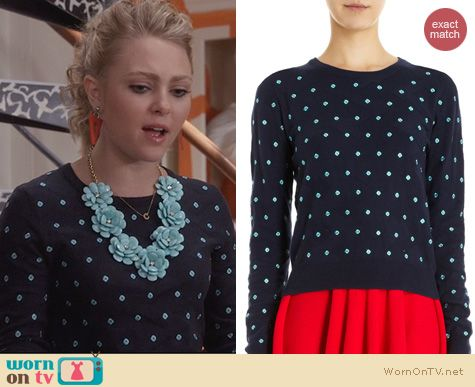 Carrie Diaries Outfits: Sahara Sweater by Opening Ceremony worn by AnnaSophia Robb