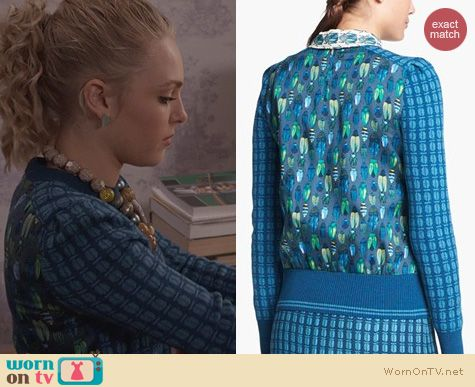 The Carrie Diaries Fashion: Tory Burch Walda Sweater worn by Carrie Bradshaw