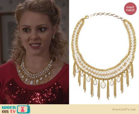 The Carrie Diaries Jewellry: Clio Necklace by Magdalena Stokalska worn by Carrie Bradshaw
