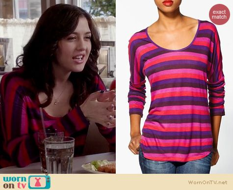 The Carrie Diaries Style: C&C California shirt tail tee worn by Katie Findlay