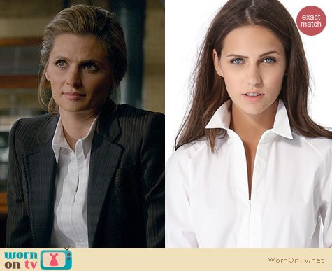 Castle Fashion: Bida Theory Shirt worn by Stana Katic