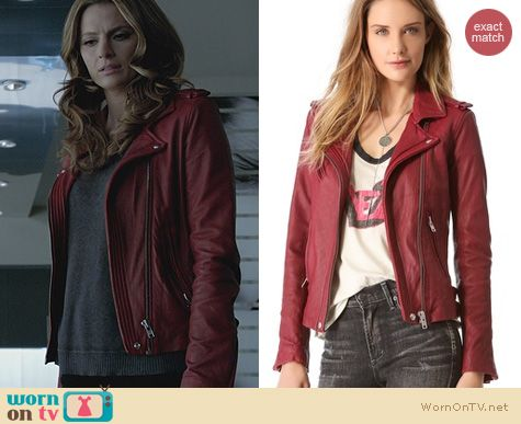 Castle Fashion IRO Han Jacket worn by Stana Katic