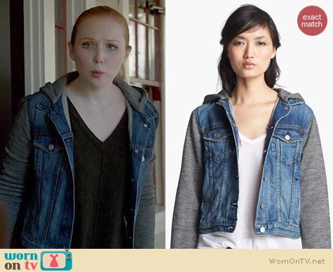 Fashion of Castle: Rag & Bone Bradford Jacket worn by Molly Quinn