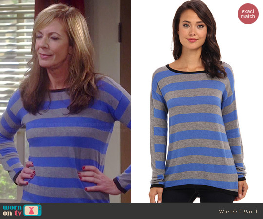 C&C California Striped Sweater worn by Allison Janney on Mom