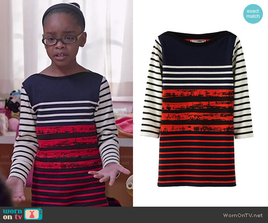 Cedric Charlier Contrasting Dress worn by Marsai Martin on Blackish